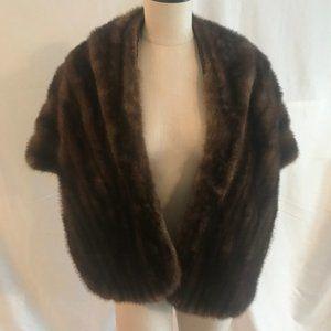 Vintage Sable Fur Bolero